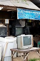 Electronic Repair Shop in Puerto Princesa, Palawan, Philippines.