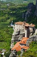 Greek Orthodox monasteries at Meteora.