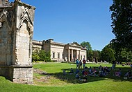 The Yorkshire Museum and Museum Gardens in summer York North Yorkshire England UK United Kingdom GB Great Britain.