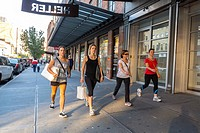 New York City, USA, Street Scenes, Meat Packing District, People Shopping.
