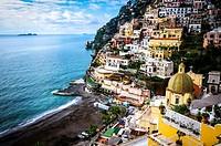 Positano, italy. Amalfi Coast.