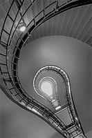 Lightbulb Stairwell.