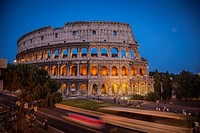 Colosseum in Rome, Italy.