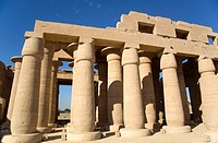 Hypostyle Hall, The Ramesseum, Luxor, West Bank, Nile Valley, Egypt