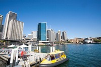 Water Taxi at Sydney Circular Quay