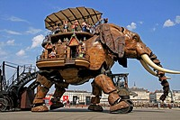 The Great Elephant, The Island Machines, Nantes, France