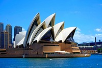 Sydney Opera House Australia New South Wales AU.