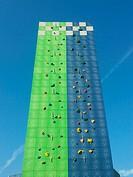 Italy, Milan, idroscalo, Climbing wall