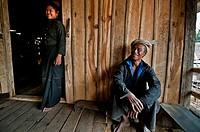 Heng ethnic group at Man Lin May village, Shan upland, Myanmar