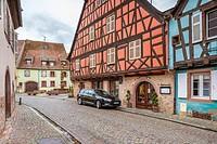 Kientzheim, Haut-Rhin, Alsace, France, Europe.