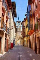 Way of Saint James by Ponferrada El Bierzo of Leon.