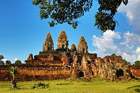 Pre Rup, Khmer Temple in Angkor, Siem Reap, Cambodia.
