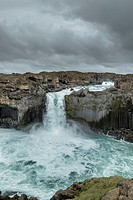Aldeyjarfoss waterfall, Iceland.