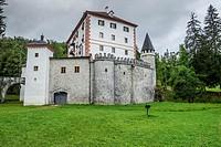 Grad Snežnik castle, Lož Valley, Loška Dolina, Slovenia.