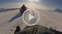 Camera on Skidoo motorhood