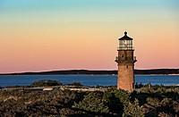 Gay Head Lighthouse, Aquinnah, Martha´s Vineyard, Massachusetts, USA.