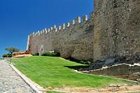 The walls of Montblanc, Tarragona.