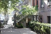 New York City, East Side, Street Scene