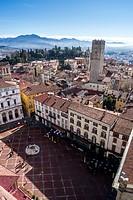 Piazza Viecchia in Bergamo