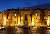 City hall of the V arrondissement, square of the Grands Hommes, Paris, Ile-de-France, France.
