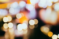 Beautiful bokeh photography of street light.