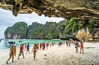Maya Beach, Krabi, Thailand.