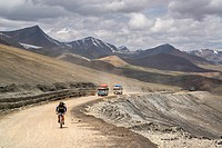 Taglang La (5328m). Second highest motorable pass of the World. Ladakh (india).
