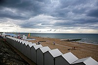 France, Normandy, Cabourg, Beach