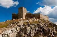 Castle 13th century, Huelva province, Region of Andalusia, Spain, Europe.
