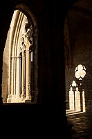 Clositer of the cistersian monastery of Vallbona de les Monges