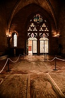 Chapter house at the Cistercian monastery of Vallbona de les MOnges Catalonia
