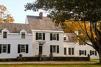 Dorset Colony House, Dorset, Vermont, United States, North America.