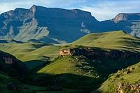 Giant´s Castle Peak. Giant´s Castle Game Reserve. Ukhlahlamba Drakensberg Park. KwaZulu Natal. South Africa.
