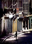 Brazil, Bahia, Salvador de Bahia. Pelourinho, Baixa dos Sapateiros.