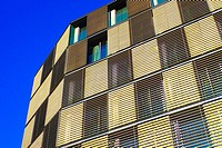 Apartment building. Barcelona, Catalonia, Spain.
