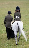 Horse Show, Horsham, Sussex, England.