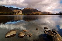 United Kingdom (Great Britain). Scotland. Highlands (Highlands). Argyll and Bute. Loch Awe and Kilchurn Castle.