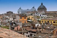 Roman rooftops. Rome, Italy.