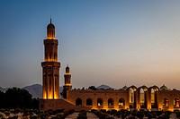 Sultan Qaboos Grand Mosque, Muscat, Sultanate Of Oman.