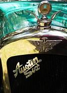 Vintage Austin Six radiator grill.