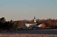 Country church, Bessemer, PA, USA