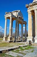 Museum of Aphrodisias. Tetrapylon.