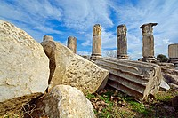 Lagina Temple of the fairly unknown goddess Hercate near Yatagan, Western Anatolia, Turkey.