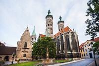 Naumburger Dom (Naumburg Cathedral), Naumburg an der Saale, Germany.