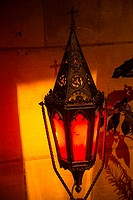 Red lantern, Bernay, 27, Normandy, France.