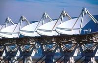 National Radio Astronomy Observatory telescopes Very Large Array Plains of San Agustin New Mexico USA.