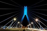 Suspension Bridge over River Boyne, Ireland