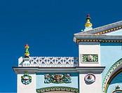 Facade Decoration Detail Strand Cinema. Key West. Florida. USA.