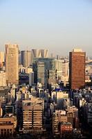 Japan, Tokyo, skyline, aerial view,.