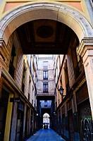 Passatge de la Pau is a street in the city of Barcelona as a protected cultural attractions. Passatge de la Pau is the result of an urban intervention...